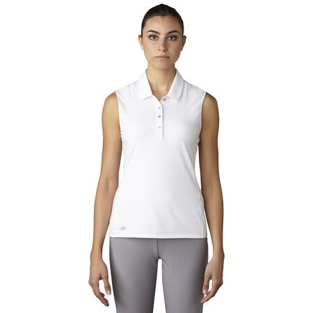 Essentials Cotton Hand Sleeveless Polo