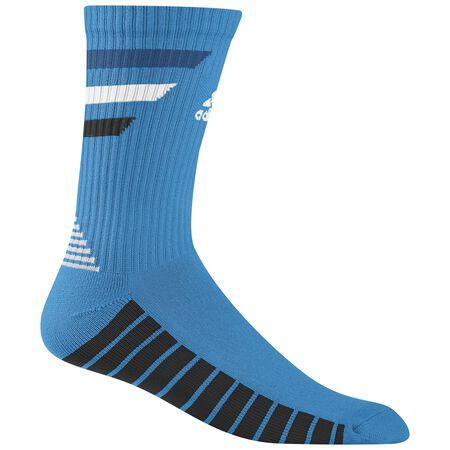 Single 3-Stripe Crew Socks