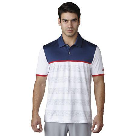 climacool 2D Camo Stripe Polo